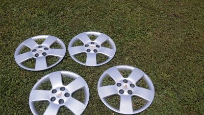 "OEM CHEVY 16"" Locking Wheel Covers"