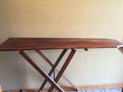 Vintage ironing board