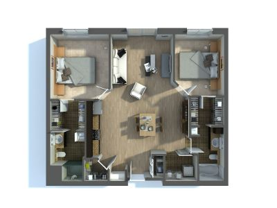How to use Architectural 3D Floor Plan Los Angeles CA