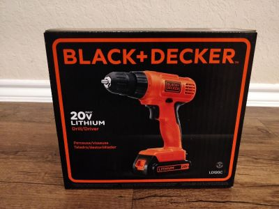 Brand New Unopened Black and Decker 20V Drill Driver