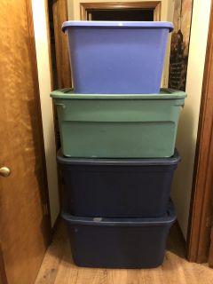 Storage containers $25 for all