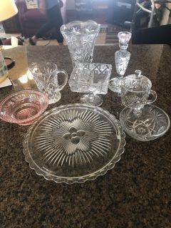Glass dishes. Need gone ASAP