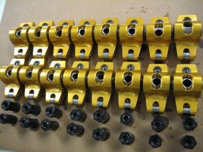 SBC Crane Cams 1.6 Roller Rockers 7/16