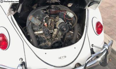 VW engine 1600cc 12-volt