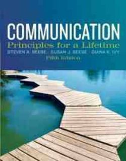 communication principles for a lifetime 5th edition EBOOK