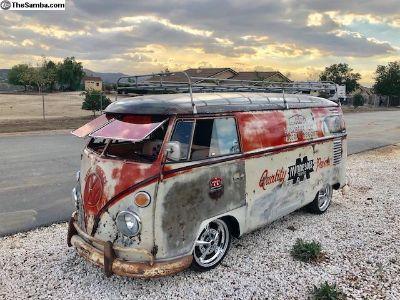 1962 VW Panel Bus Logoed Patina Sweetness!!