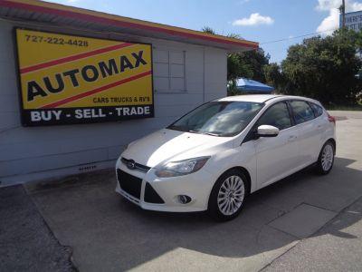 2012 Ford Focus Titanium (White)