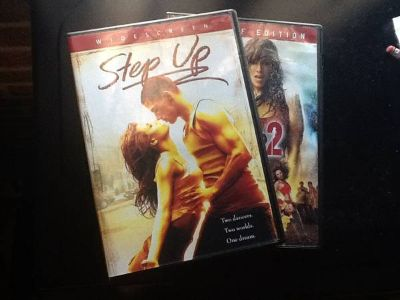 Step Up DVDs 1  2
