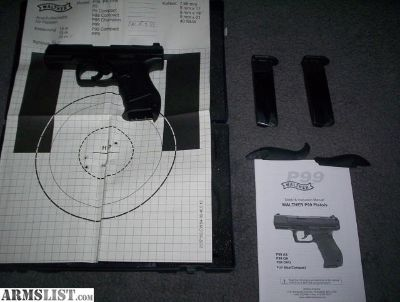 For Sale/Trade: Walther P99AS