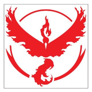 Find Pair Red Pokemon GO Team Valor Inspired Moltres Laptop Wall Window 3X3 motorcycle in La Puente, California, United States, for US $6.29