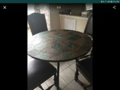 kitchen slate table