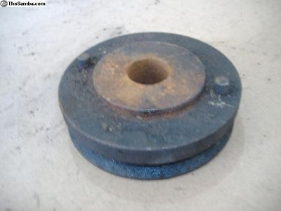 "VW AC PULLEY 3-1/2"" wide bug ghia type 3"