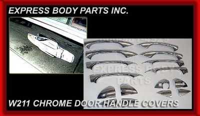 Sell W203 CHROME DOOR HANDLE COVER 2001-2007 C230 C350 C240 C32 C280 C55 C-Class motorcycle in North Hollywood, California, US, for US $39.00