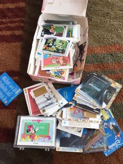 Large lot if very brave Disney cards