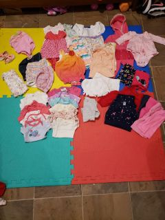 0-3 month old girl clothes