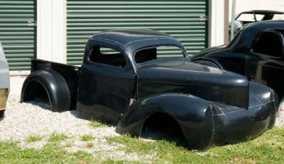mold to make a 1941 willys truck