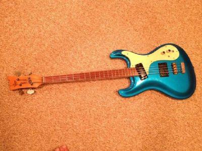 $1,250 OBO Vintage 1965 Mosrite Ventures Bass Guitar