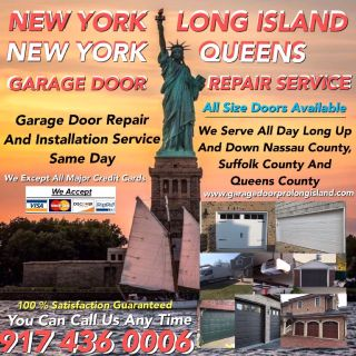 ON TIME GARAGE DOOR REPAIR AND INSTALLATION SERVICE NEW YORK AND LONG ISLAND