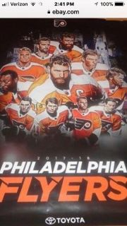 Flyers Toyota Poster