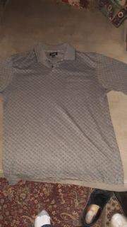 Men's size Medium Vanhuesen Long - Sleeved Dress Shirt