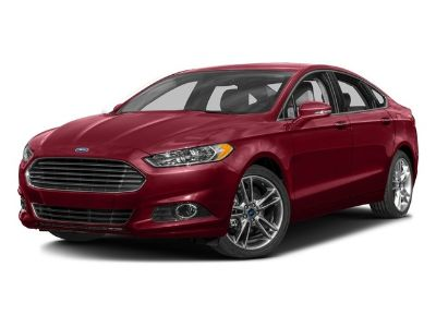 2016 Ford Fusion Titanium (Gray)