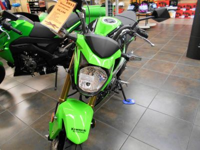 2017 Kawasaki Z125 Pro KRT Edition Sport Motorcycles Belvidere, IL
