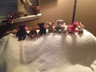 Rare princess diana beanie baby 1993 and 1997 are the others exc