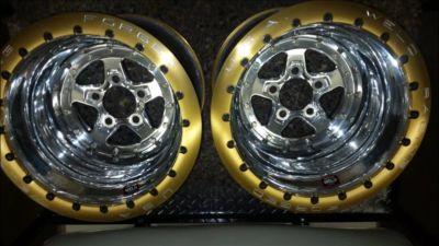 Double bead lock weld wheels
