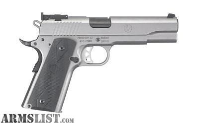 For Sale: Factory New Ruger, SR1911, Full Size, 10MM