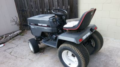 Craftsman 22HP V-Twin Kohler Lawn Tractor