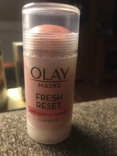 OLAY FRESH RESET ROLL ON CLAY MASK. USED ONLY ONCE.