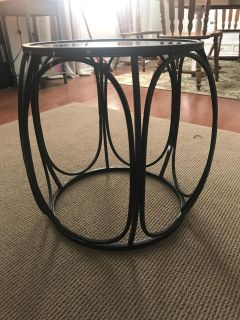 End Table with Mirror top