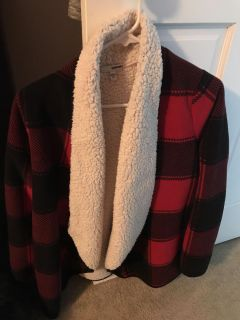 Sonoma size M fully fleece lined sweater