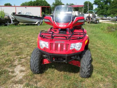 2010 Arctic Cat 550 PS EFI 4X4 WITH WINDSHIELD Utility ATVs West Plains, MO