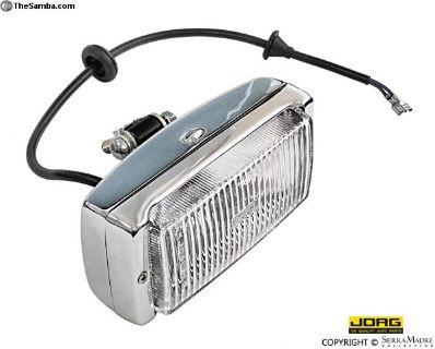 Fog Light, Chrome, 911/Carrera/930 (74-83)