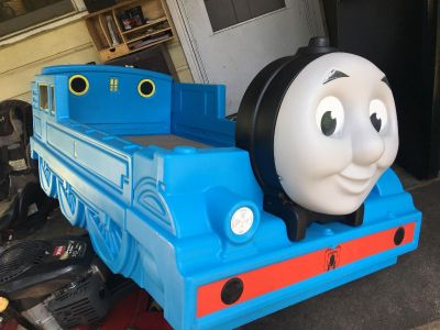 Tommy the Train Toddler Bed