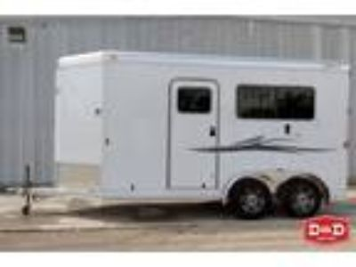 2019 Exiss 2 Horse Straight Load Trailer 2 horses