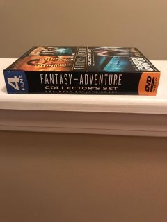 Fantasy adventure collectors set. Four films. Opened not watched.