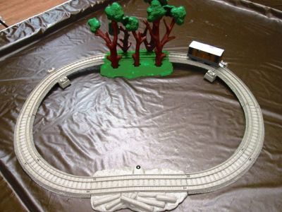 TOBY AND THE WHISTLING WOODS TRAIN TRACK SET