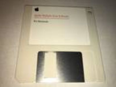 "Vintage Apple Multiple Scan Display Software 3.5"" Disk"