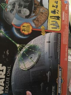 Micro machine Star Wars Death Star, never played with but don t wish to take apart