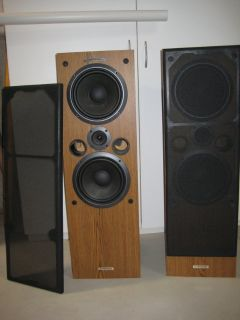 Pioneer Cs-j525 Twin Woofer System Wood Speakers 150 Watt 8 Ohm.Made in the USA