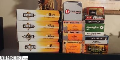 For Sale/Trade: Various ammo