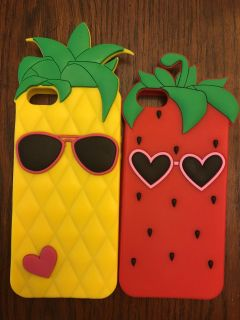Silicone rubber iPhone 5 / 5s phone cases