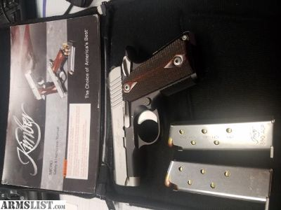For Sale: Kimber Micro Carry