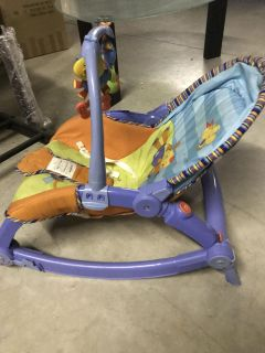 Rocking chair. Two positions for baby and toddler.