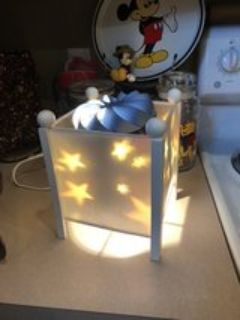 new spin star lamp