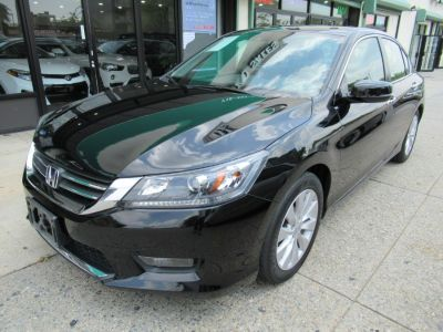 2015 Honda ACCORD SEDAN 4dr I4 CVT EX-L (Black)