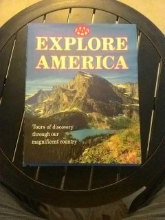 Explore America book by aaa