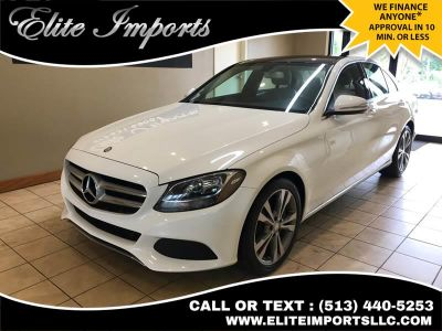2015 Mercedes-Benz C-Class C 300 4dr Sedan (White)